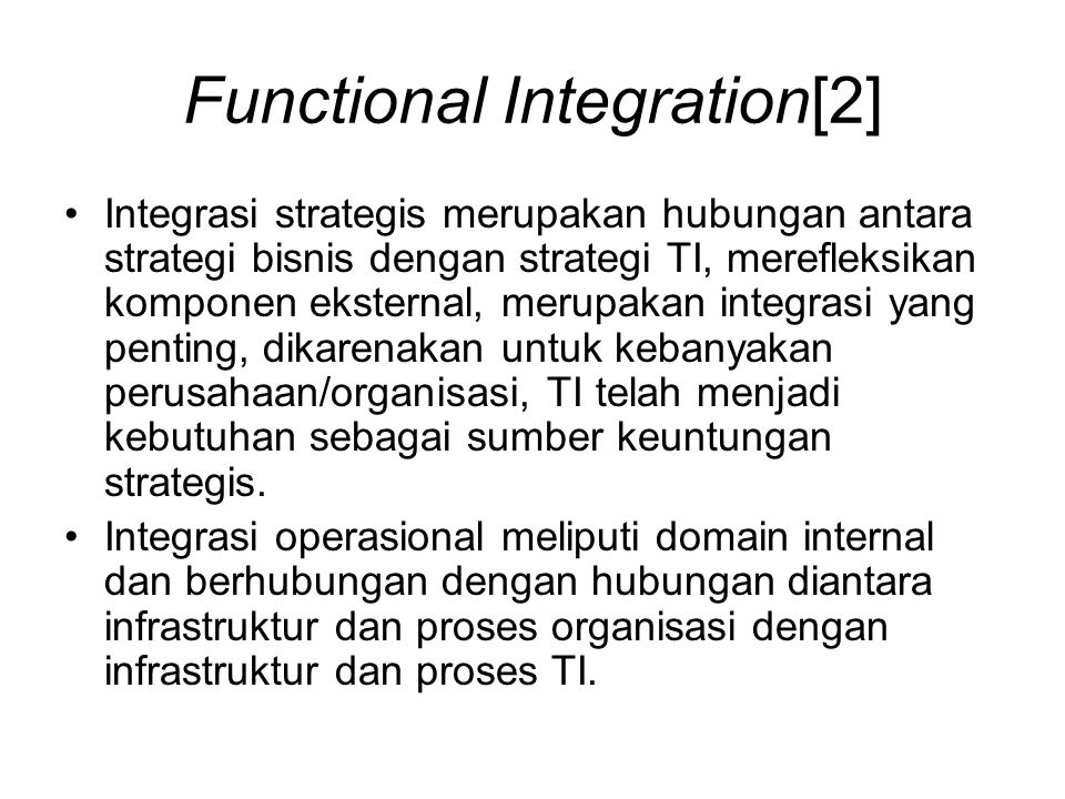 Functional Integration[2]